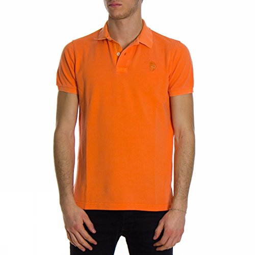 us-polo-association-polo-para-hombre-naranja-naranja-small