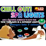 Spa Glow Bath Lights 1 Packby Thinkgizmos