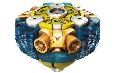Mega Bloks Magnext Battle Strikers Turbo Tops - Nautilus - 1