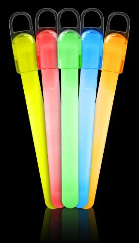 Fun Central I31 4 Inch Standard Glow Sticks - Assorted Color Mix