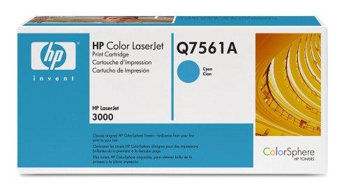 Toner cartridge cyan 3 5k for color laserjet 3000 (Q7561A) HP Q6616A