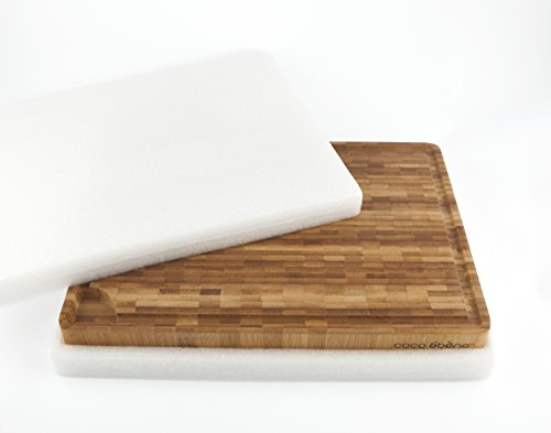 large end grain cutting board butcher block with juice groove and tank kitchen prep station with