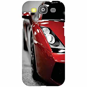 Samsung Galaxy S3 Neo Back Cover - Red Car Designer Cases