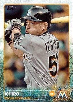 2015 Topps Update #US396 Ichiro Suzuki Baseball Card - Miami Marlins