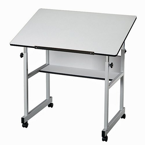 Folding Drafting Table front-1002808