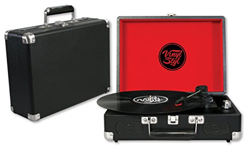 Vinyl-Styl-Groove-Portable-3-Speed-Turntable-Black