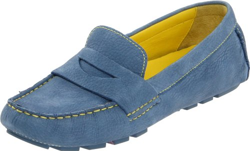 Cole Haan Women's Air Sadie Driver,Harbour Blue,9 B US