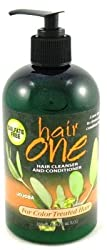 Hair One Hair Cleanser And Conditioner For Color Treated Hair With Jojoba 12 oz.