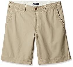 Gant Men's Cotton Shorts (8907036803815_GMHFF0009_Large_Sand)