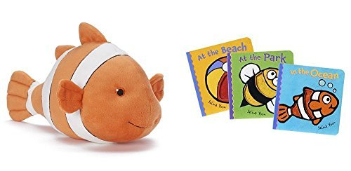 kohls-cares-clownfish-plush-toy-plus-in-the-ocean-at-the-beach-and-at-the-park-book-trio-set-by-kohl