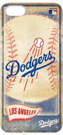 Los Angeles Dodgers MLB Vintage Style Durable Plastic Back Case for iPhone 5 5S at Amazon.com