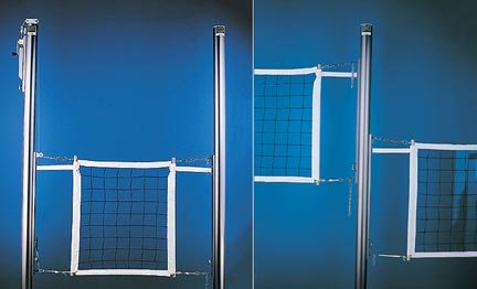 Collegiate 2 Court Volleyball System from Gared