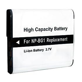 Batteria Li-ion Sony Cyber-shot DSC-WX1 DSC-W115 DSC-W85 DSC-W40 DSC-T25 DSC-H70 DSC-W300 ecc.
