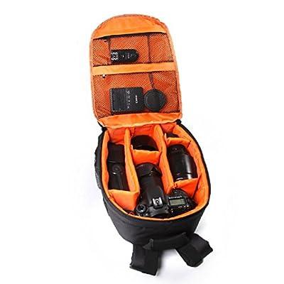 DZT1968® DSLR Camera Waterproof Backpack Bag Case For Canon Nikon Sony
