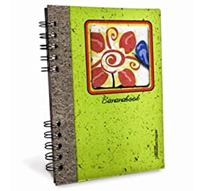 Banana Paper 2-Subject College Rule Dreams Collection Notebook in Flower