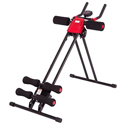 Ultrasport Bauchtrainer Ultra 150 - Fitness Power AB Trainer, faltbar