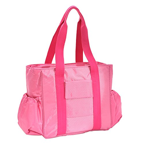 Damai Diaper Tote Bag With Changing Pad (Pink) front-922550