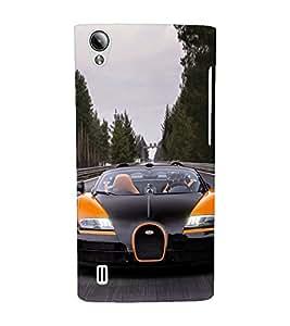 EPICCASE Stylish long Car Mobile Back Case Cover For Vivo Y15 (Designer Case)