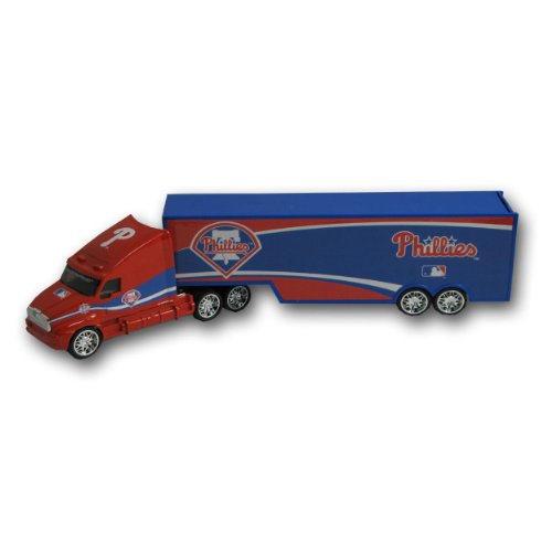 MLB Top Dog Tractor Trailer Transport 1:64 Scale Diecast