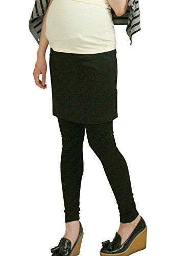 Sweet Mommy Maternity Leggings With Tight Skirt Bkll