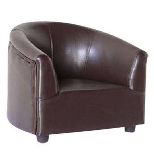 Childrens Tub Chair Brown
