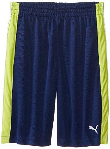 Puma Big Boys' Sport Short, Blue Depths, Medium front-1055052