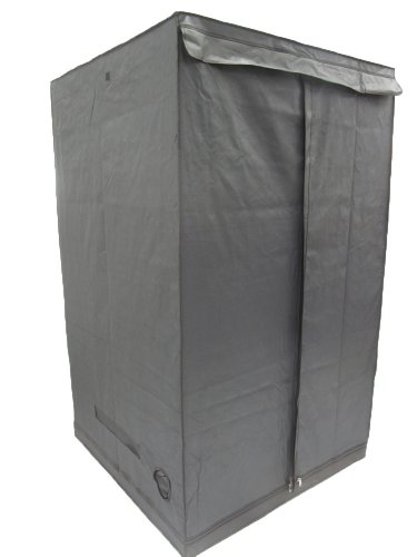 Aviditi PTU-66 Mylar Reflective Hydroponic Grow Tent, 48-Inch Wide by 48-Inch Deep by 79-Inch High