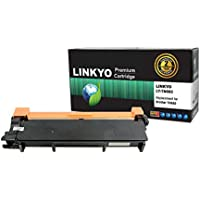 LINKYO Compatible Replacement for Brother TN660 TN630 High Yield Toner Cartridge - Black
