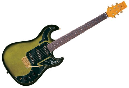 Burns Of London Marquee Electric Guitar In Greenburst