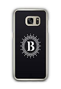 YuBingo Monogram with Beautifully Written letter B Designer Mobile Case Back Cover for Samsung Galaxy S7 Edge
