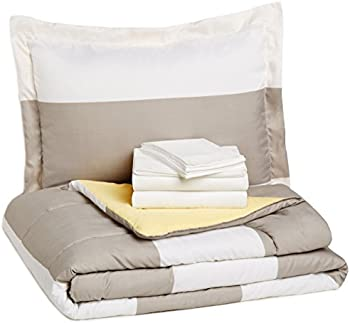 AmazonBasics 5-Piece Twin Bed-In-A-Bag