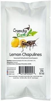 Lemon Chapulines 20g