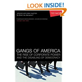 Gangs of America: The Rise of Corporate Power and the Disabling of Democracy (Bk Currents)