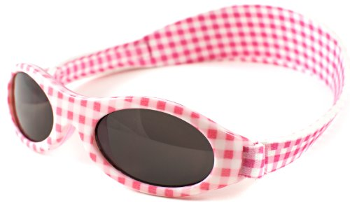Baby Banz Sunglasses (Pink Gingham)