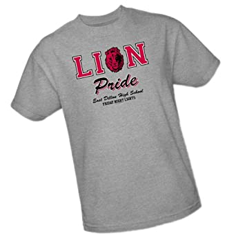 Lion Pride -- Friday Night Lights Adult T-Shirt, Small