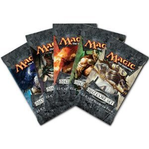 5 (Five) Packs of Magic the Gathering - MTG: 2012 Core Set M12 Booster Pack Lot (5 Packs)