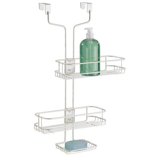 mdesign-portaoggetti-regolabile-per-bagno-da-porta-doccia-per-shampoo-balsamo-sapone-bianco-perlato
