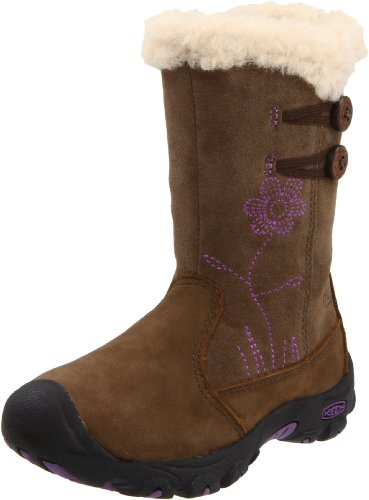 KEEN Libby Winter Boot (Toddler/Little Kid),Slate Black,11 M US Little Kid