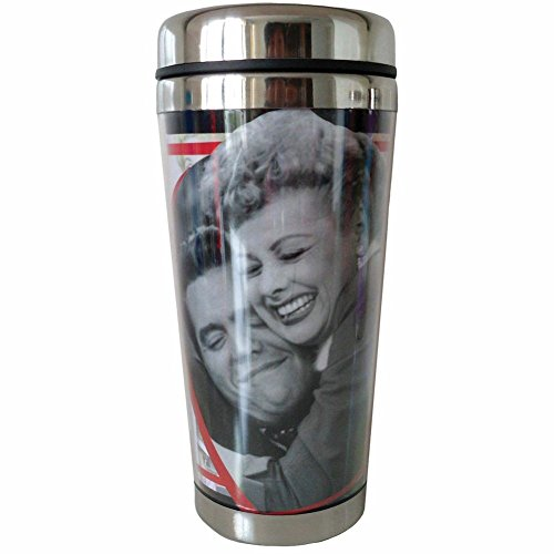 Westland Giftware 16-Ounce Acrylic and Stainless Steel Travel Mug, I Love Lucy Loving Memories, 7-Inch (I Love Lucy Party Supplies compare prices)