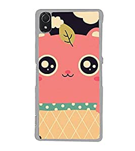 Cute Cartoon 2D Hard Polycarbonate Designer Back Case Cover for Sony Xperia Z3 :: Sony Xperia Z3 Dual :: Sony Xperia Z3 D6633