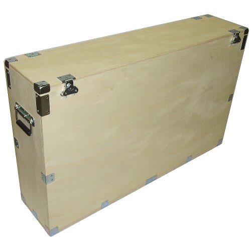"""Crate Style Case For 37"""" Plasma Lcd Led - 1/2"""" Bare Wood (Inside & Out) Kit Form - Inside Dimensions 39"""" X 9"""" X 28"""" High"""