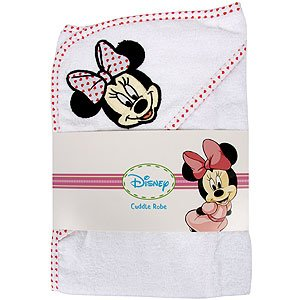 Disney Minnie Mouse Cuddle Robe (White/Red)