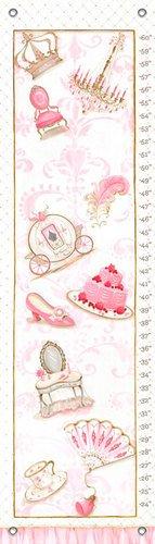 "Oopsy Daisy Growth Chart, Little Princess, 12"" x 42"""