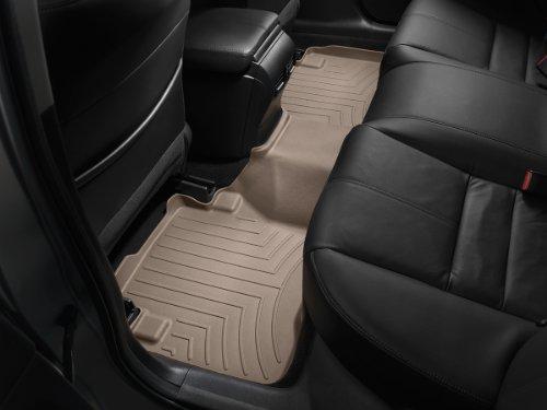 WeatherTech Custom Fit Rear FloorLiner for Toyota Prado 2-Door (Meru), Tan (Toyota Meru Prado Accessories compare prices)