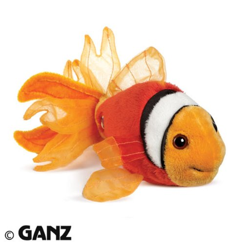 Lil'Kinz Mini Plush Stuffed Animal Tomato Clown Fish