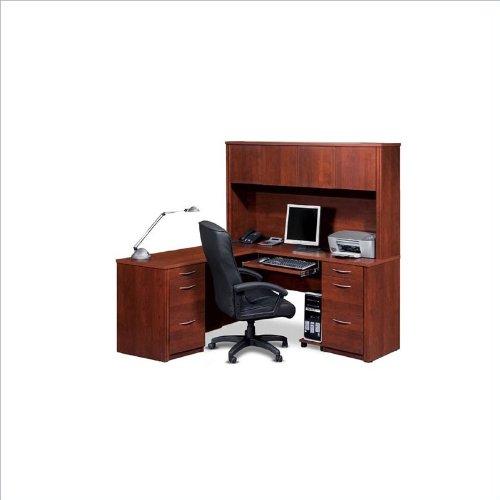 Bush Saratoga L Shaped Desk Bush Saratoga L Shaped