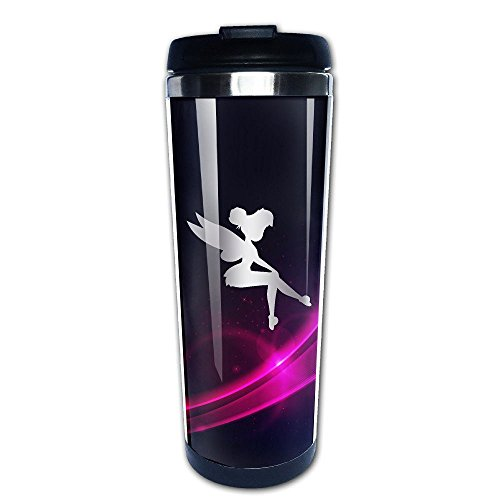 Stainless Steel Tinker Bell Platinum Style Tumbler Coffee Mug (Tabletop Screen Printing Press compare prices)