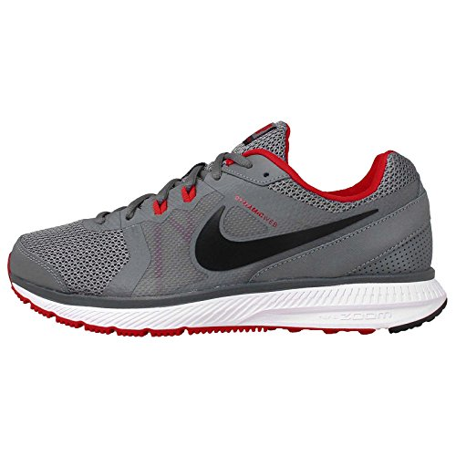 Nike Zoom Winflo Men'S Running Shoes 684488-002 Size 12 D (Standard Width) Cool Grey/Black/University Red/White