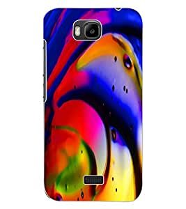 ColourCraft Beautiful Drawing Design Back Case Cover for HUAWEI HONOR BEE