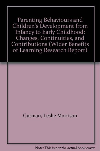 Infancy And Early Childhood Development